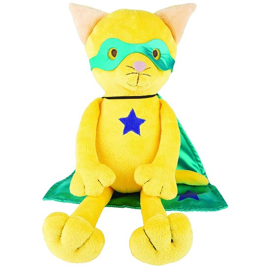 Suki Superhero Captain Cat Plush Toy