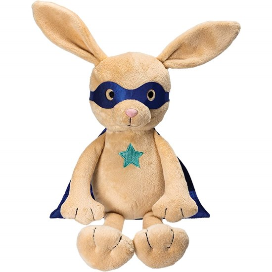 Suki Superhero Rocket Rabbit Plush Toy