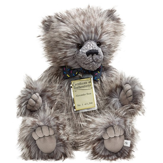 5053154171121 Alexander Silver Tag Bear Collection 5