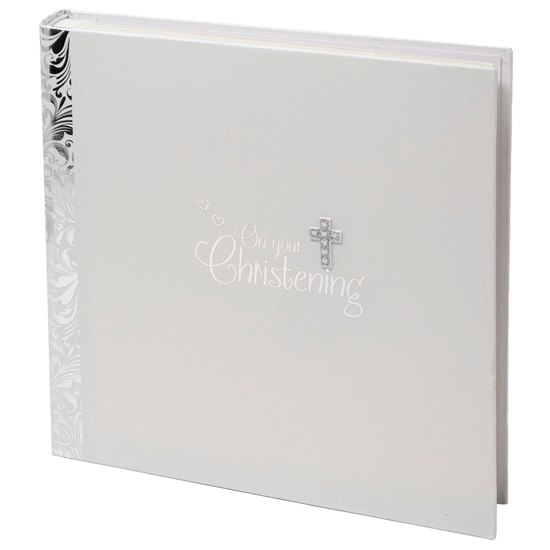 5053944509660 Christening Christening Photo Album