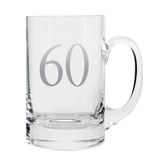 5053944608585 Celebrate In Style - 60 Birthday Beer Tankard