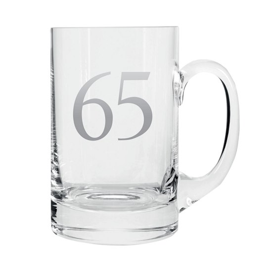 5053944608592 Celebrate In Style - 65 Birthday Beer Tankard