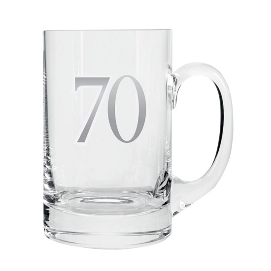 5053944608608 Celebrate In Style - 70 Birthday Beer Tankard