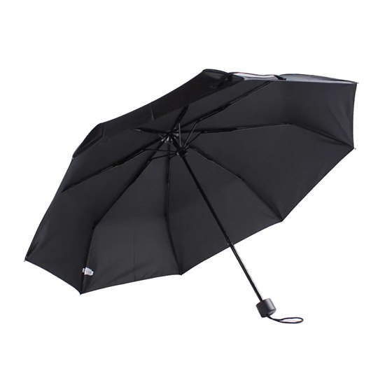 5055722206259 Black Telescopic Umbrella