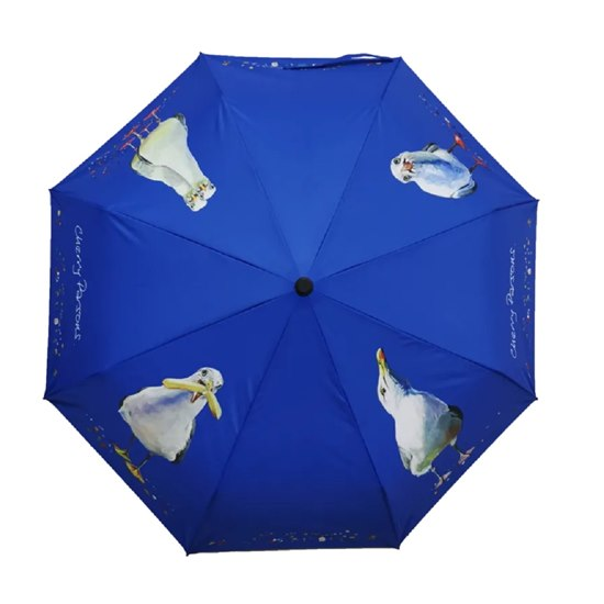 5055722206501 Cherry Parsons Folding Umbrella - Seagulls