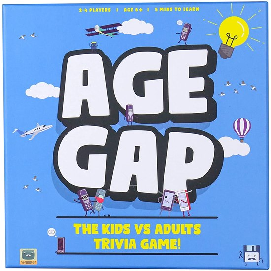 5056004332000 Age Gap Kids Vs Adults Quiz Game