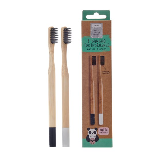5056223113237 Bamboo Charcoal Infused Toothbrushes