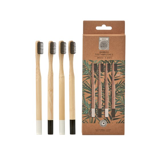 5056223114067 Bamboo Charcoal Infused Toothbrushes