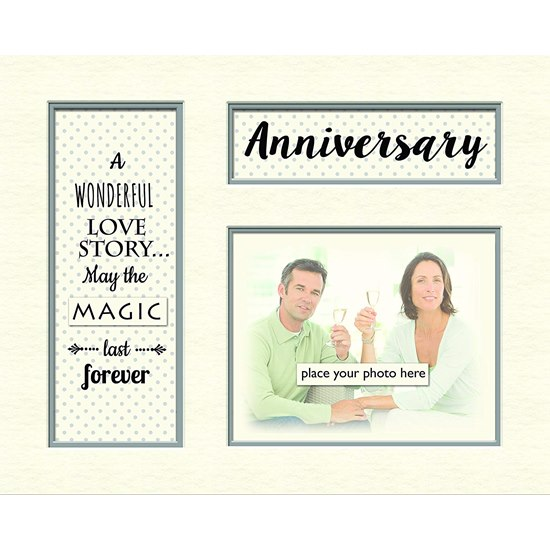 5060000122138 Anniversary Memory Photo Mount