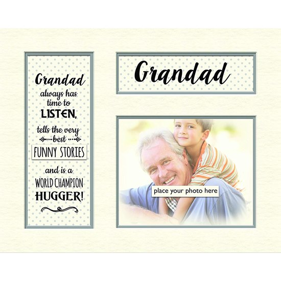 5060000122152 Grandad Memory Photo Mount