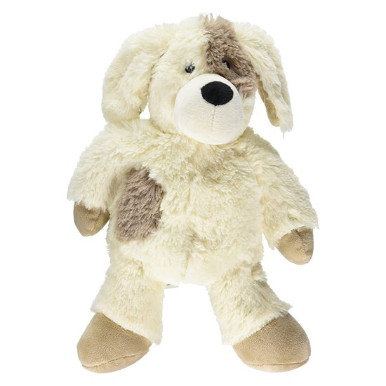 5060075680397 Warmies Cream Puppy Heatable Soft Toy