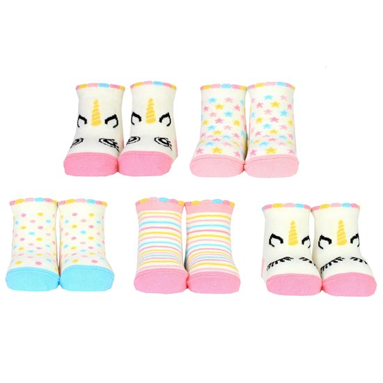 5060152024724 Cucamelon Baby Unicorn Socks 0-12 months