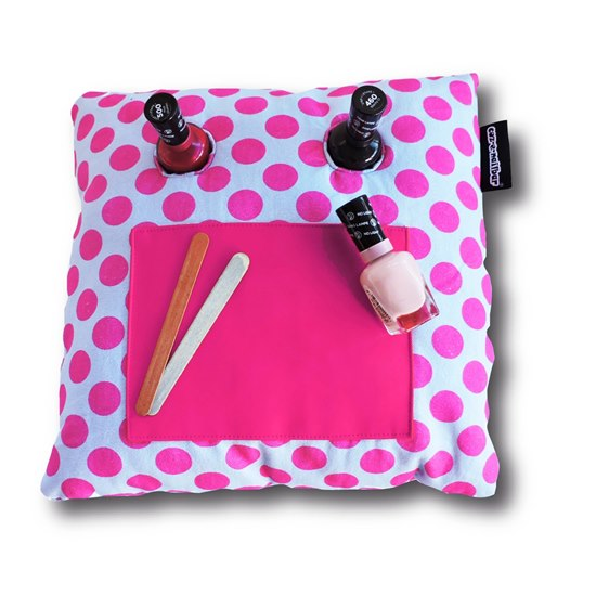 5060270442271  Pink Dot Coz-e-Nailbar Manicure Cushion
