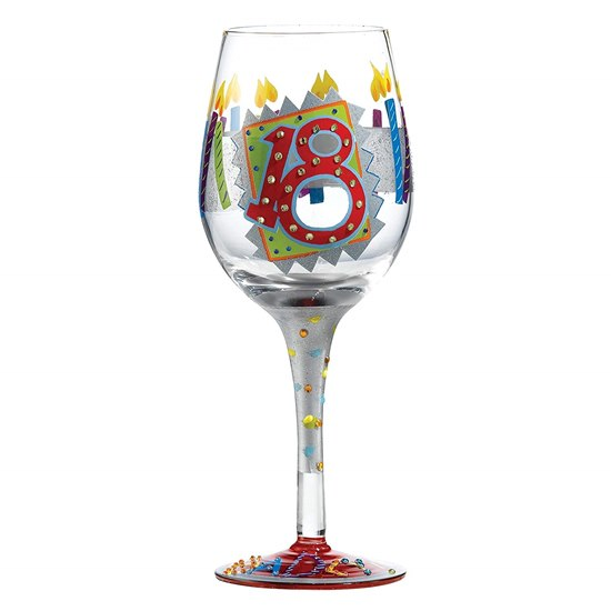 5060298230997 18th Birthday Lolita Wine Glass