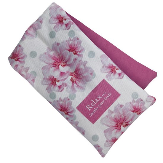 BWRAP Cherry Blossom Floral Heatable Body Wrap
