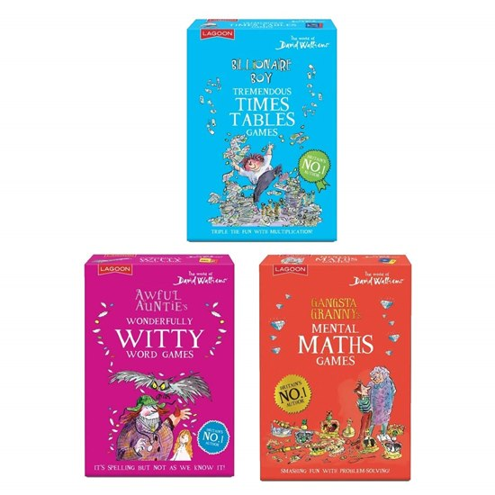 5060478785323 David Walliams Trio Educational Card Games