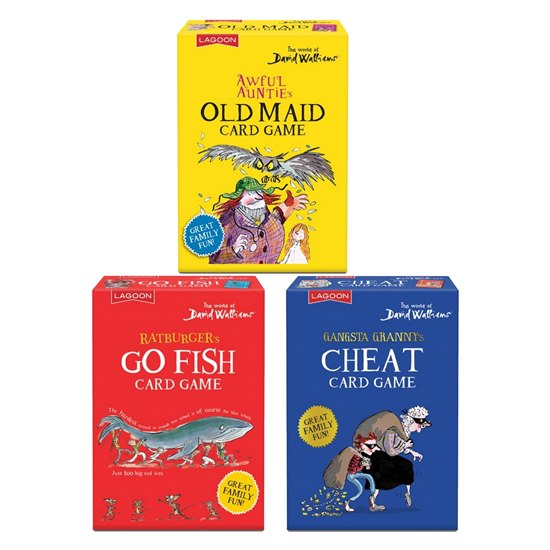5060478785354 David Walliams Trio Classic Childrens Card Games