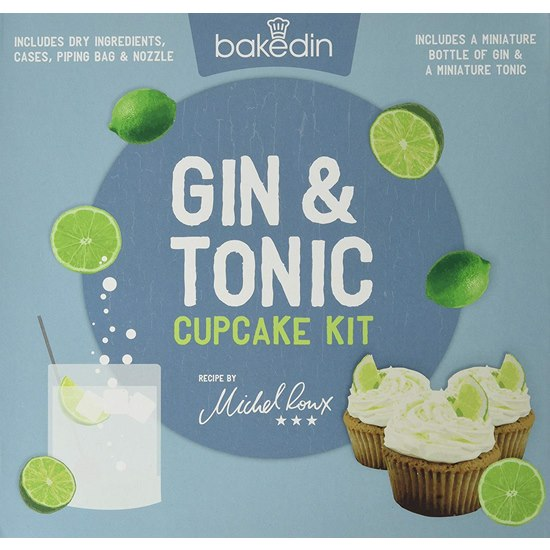 5060502500175 Bakedin Gin and Tonic Cupcake Kit