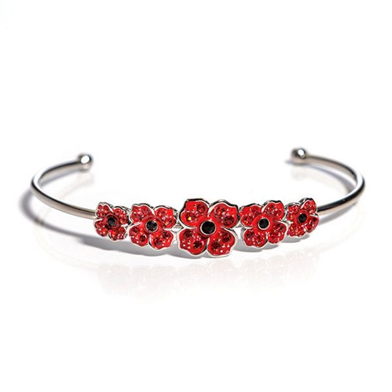 5060514682296 Five Poppy Torque Bangle