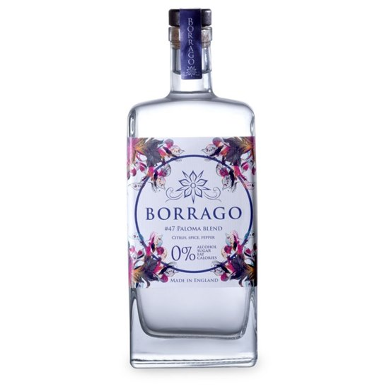 5060567740004 Borrago #47 Paloma Blend Non Alcoholic Spirit 500ml