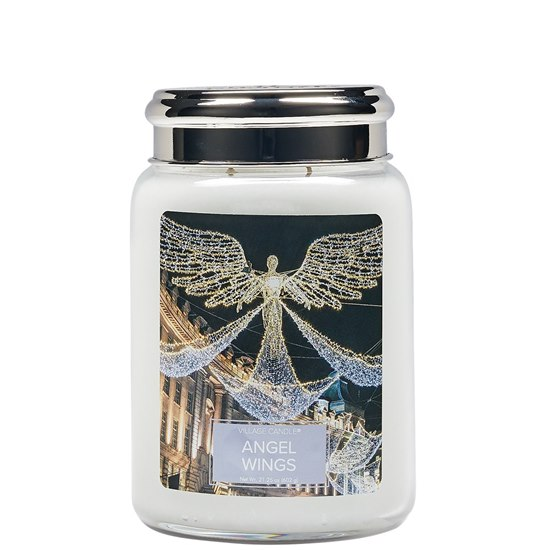 Village Candle Angel Wings Large Jar