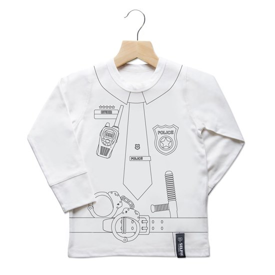 SELFIEPOLICETOP Selfie Clothing Police Colour In Top 6-8Yrs