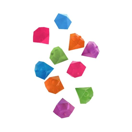 612615056961 Colourful Diamonds Reusable Ice Cubes