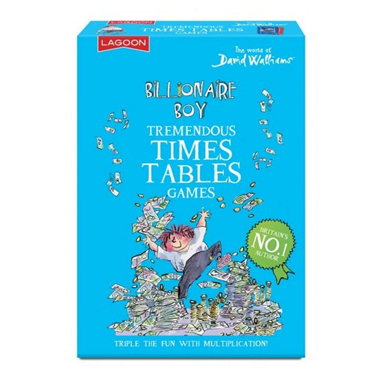 677666021085 David Walliams Billionaire Boy Times Table Games