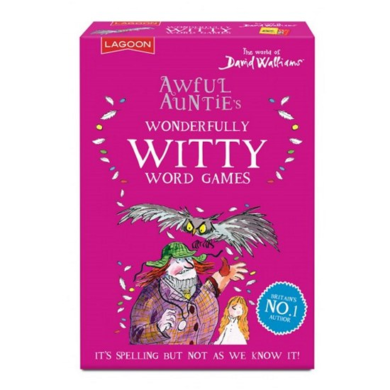 677666021092 David Walliams Awful Auntie Witty Word Games