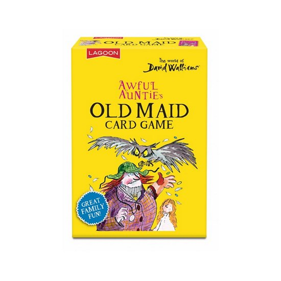 677666021122 David Walliams Awful Auntie's Old Maid Card Game