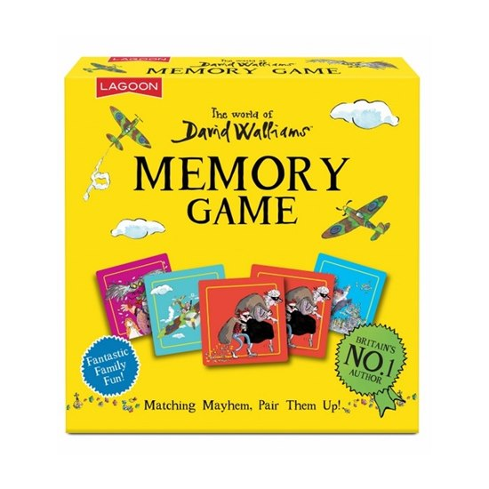 677666021153 David Walliams Memory Game