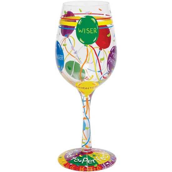 704519063289 Aged To Perfection Lolita Wine Glass