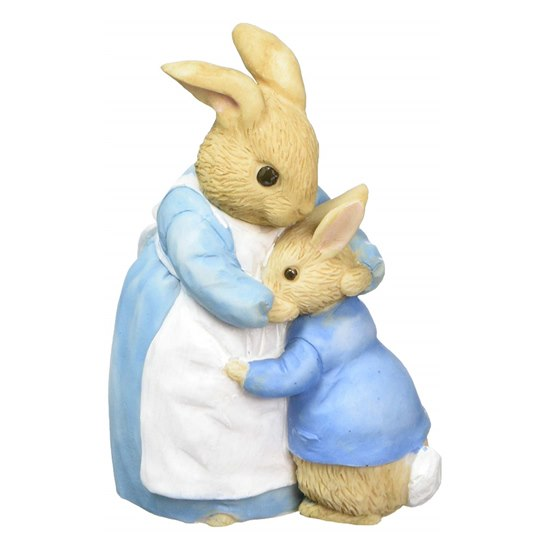 720322269090 Beatrix Potter Mrs Rabbit & Peter Mini Figurine