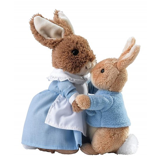 720322282563 Beatrix Potter Mrs Rabbit and Peter Rabbit Soft Toys