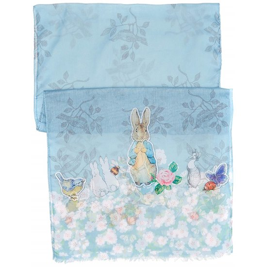 720322282921 Beatrix Potter Peter Rabbit Scarf