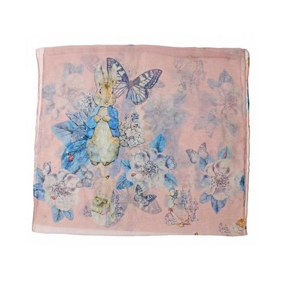 720322295983 Beatrix Potter Peter Rabbit Garden Scarf