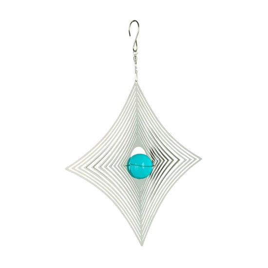 810812020901 Cosmo Spinner - Diamond & Blue Stone