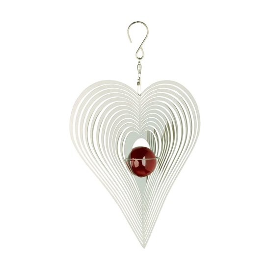 810812020918 Cosmo Spinner - Heart & Red Stone