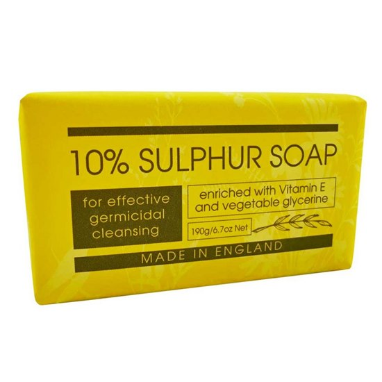 840274000234 10% Sulphar Soap Bar 190g