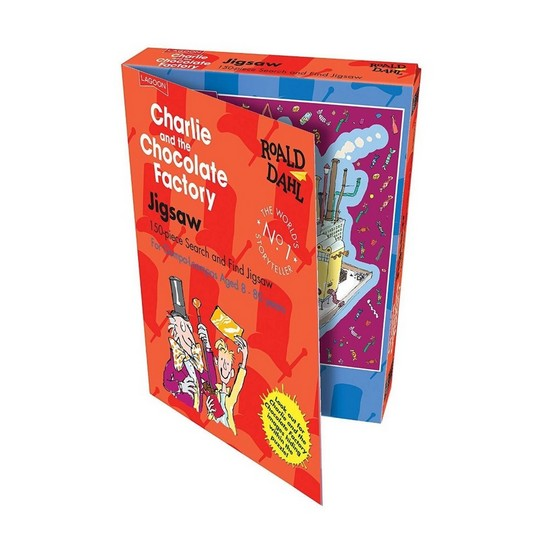 677666019648 Charlie and The Chocolate Factory Jigsaw Puzzle
