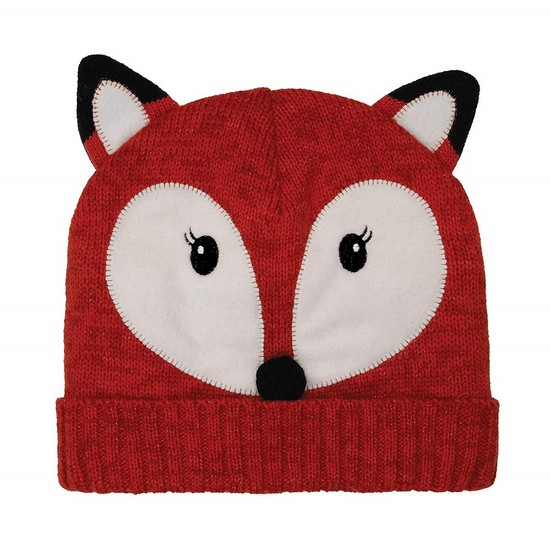5060398123069 Fox Click & Heat Knitted Hat