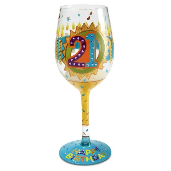 5060298231000 21st Birthday Lolita Wine Glass