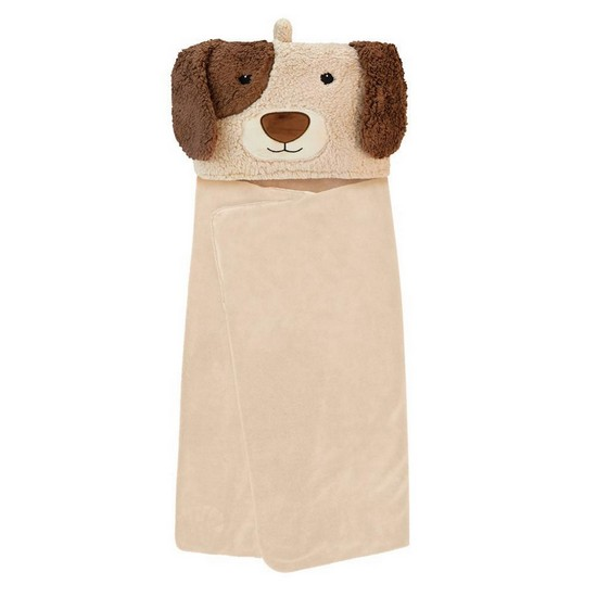 5060398123656 Snuggable Hooded Blanket Dog