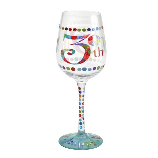 5060298231697 Here's To You 30th Wine Glass