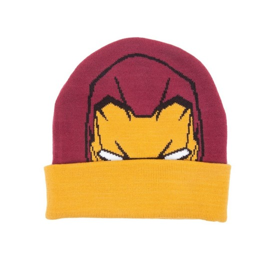8718526221312 Marvel Iron Man Beanie Hat