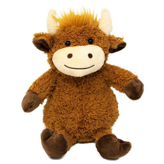 5060398123946 Cozy Hottie Highland Cow Heatable Soft Toy