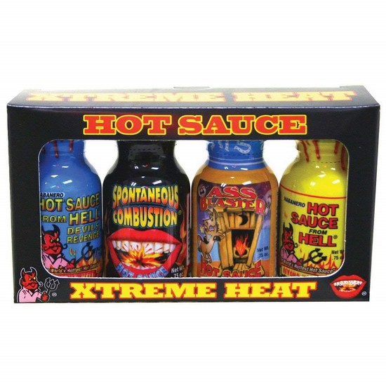 Xtreme Heat Mini Hot Sauce Bottles