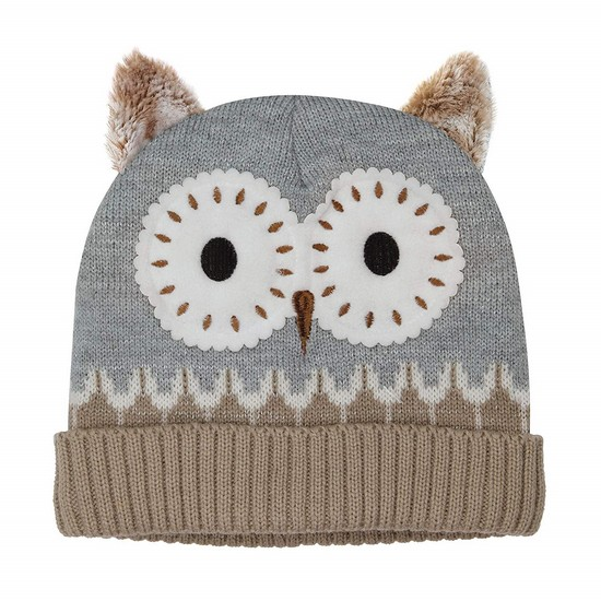 5060398123120 Click & Heat Knitted Hat Owl