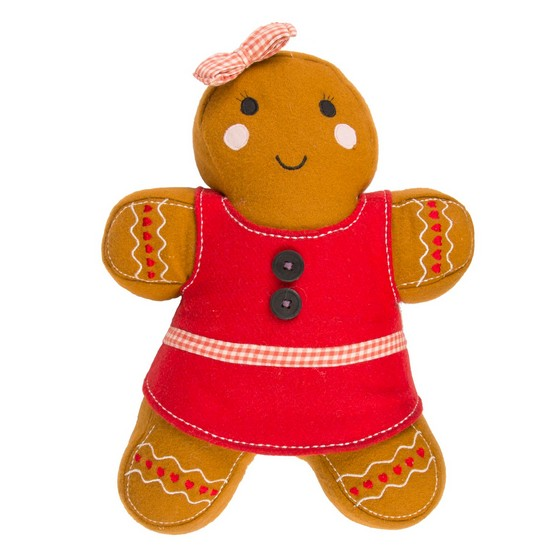 5055992727218 Sass & Belle Dolly Gingerbread Girl Cushion