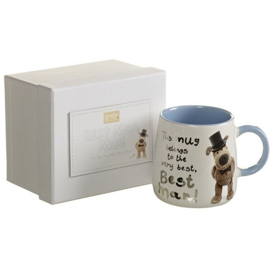 5016061647790 Best Man Boofle Mug